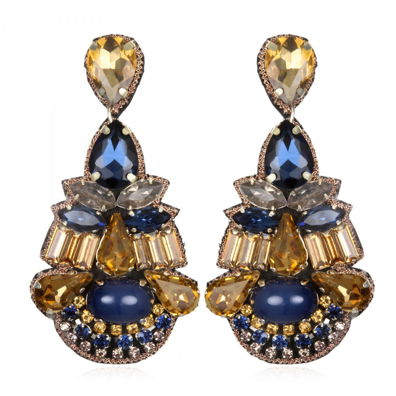Khepri Drop Earrings - Suzanna Dai