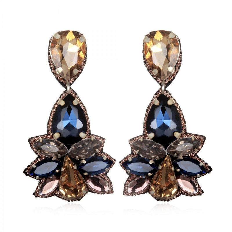 Khepri Small Drop Earrings - Suzanna Dai