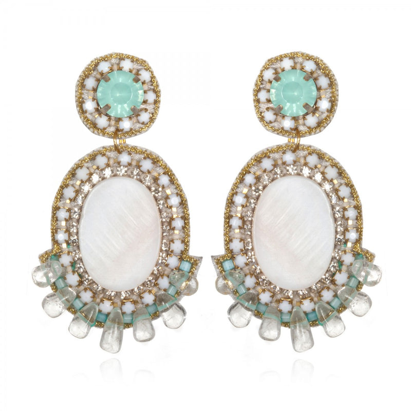 Prague Small Drop Earrings - Suzanna Dai