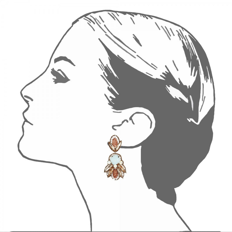 Montparnasse Drop Earrings - Suzanna Dai