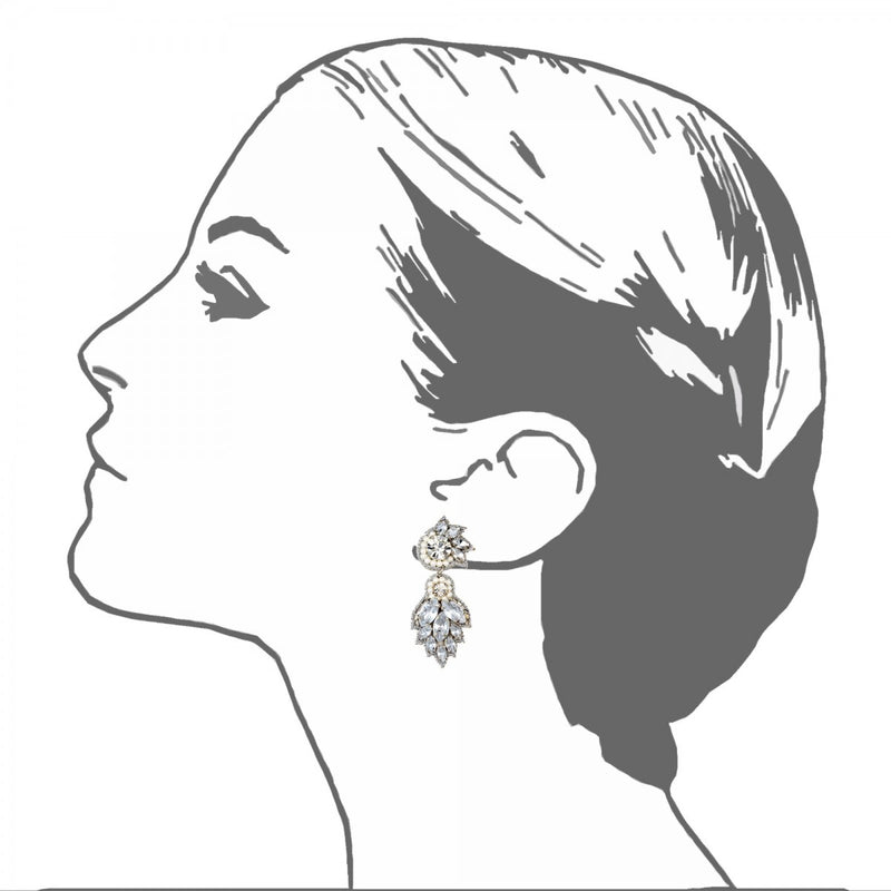 Vosges Drop Earrings - Suzanna Dai