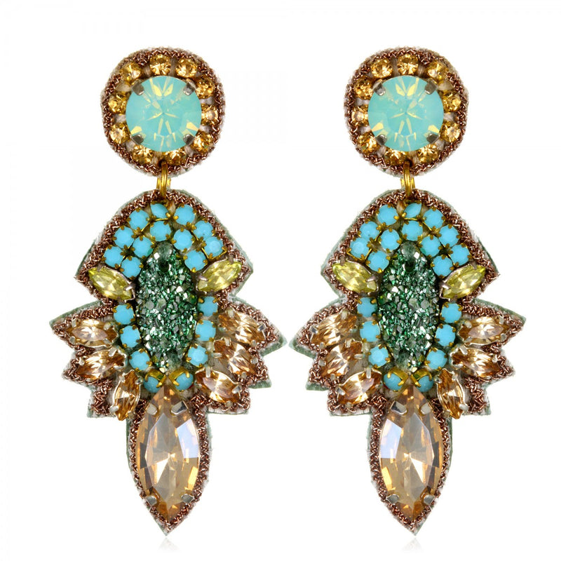 Orsay Small Drop Earrings - Suzanna Dai