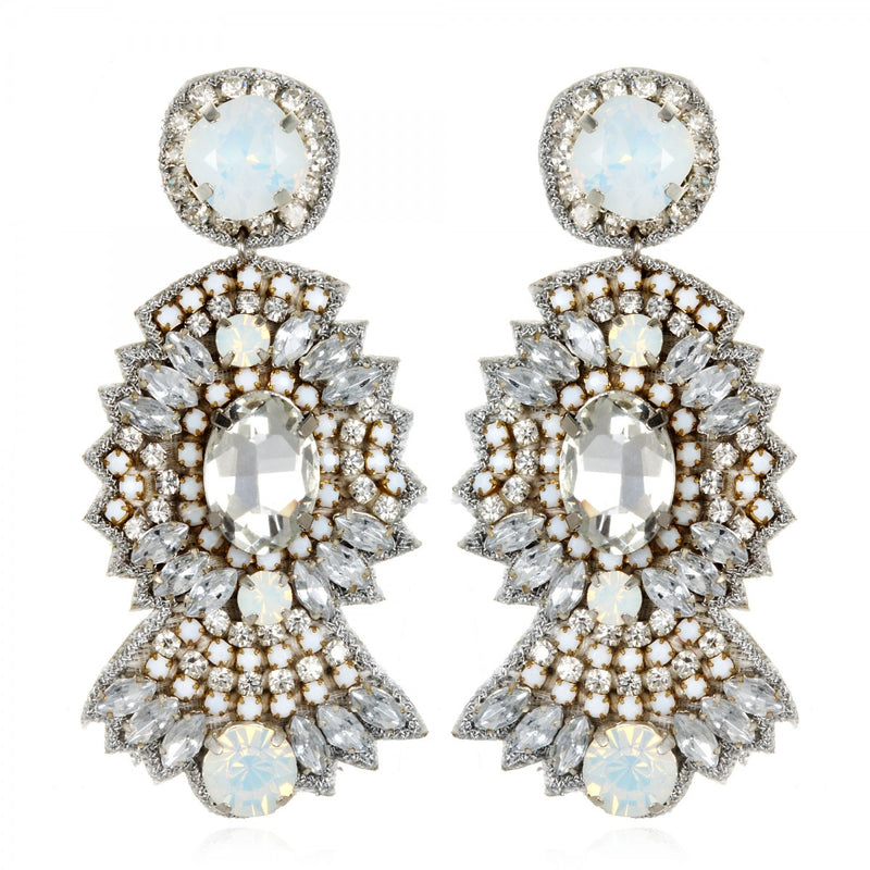 St Germaine Drop Earrings - Suzanna Dai