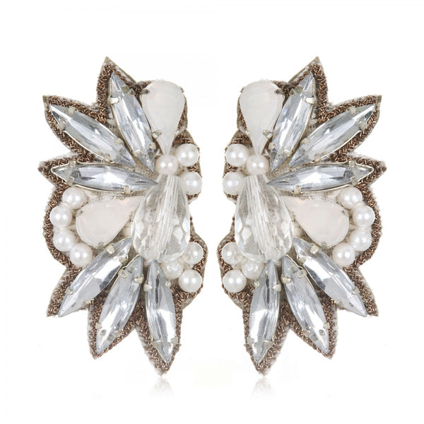 Tuileries Button Earrings - Suzanna Dai