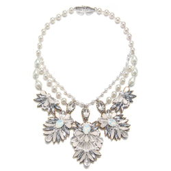 Tuileries Tiered Statement Necklace - Suzanna Dai