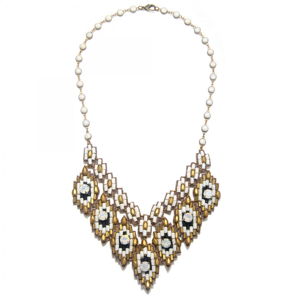 Ankara Statement Necklace - Suzanna Dai