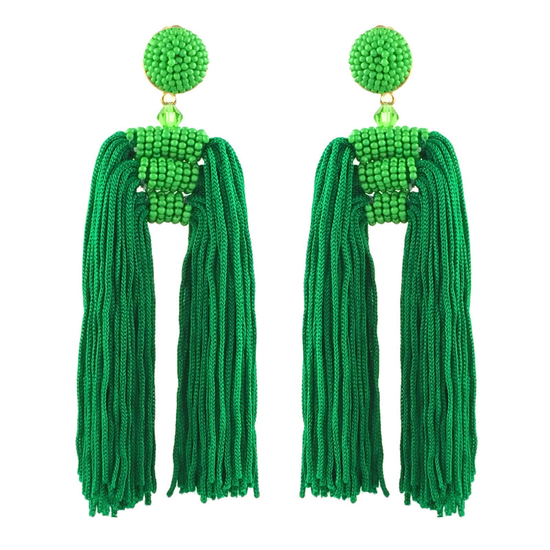 Waterfall Tassel Earrings - Sale - Suzanna Dai