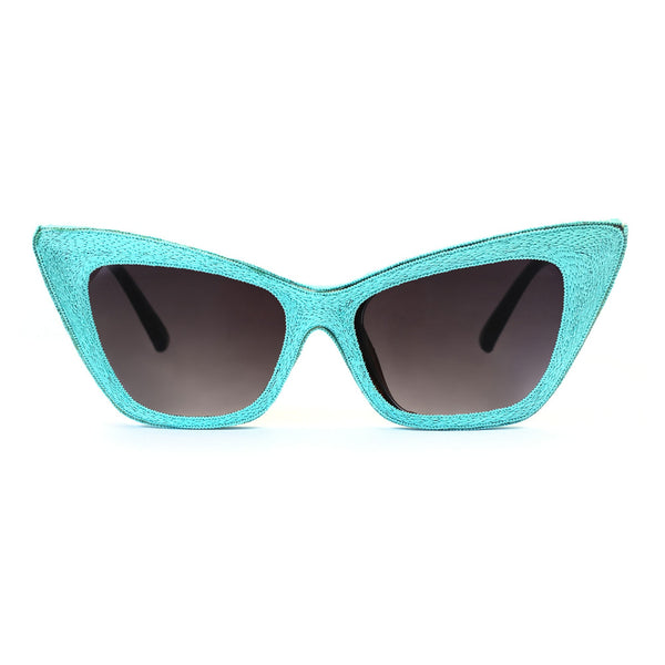 Silk Embroidered Frame Sunglasses - Suzanna Dai