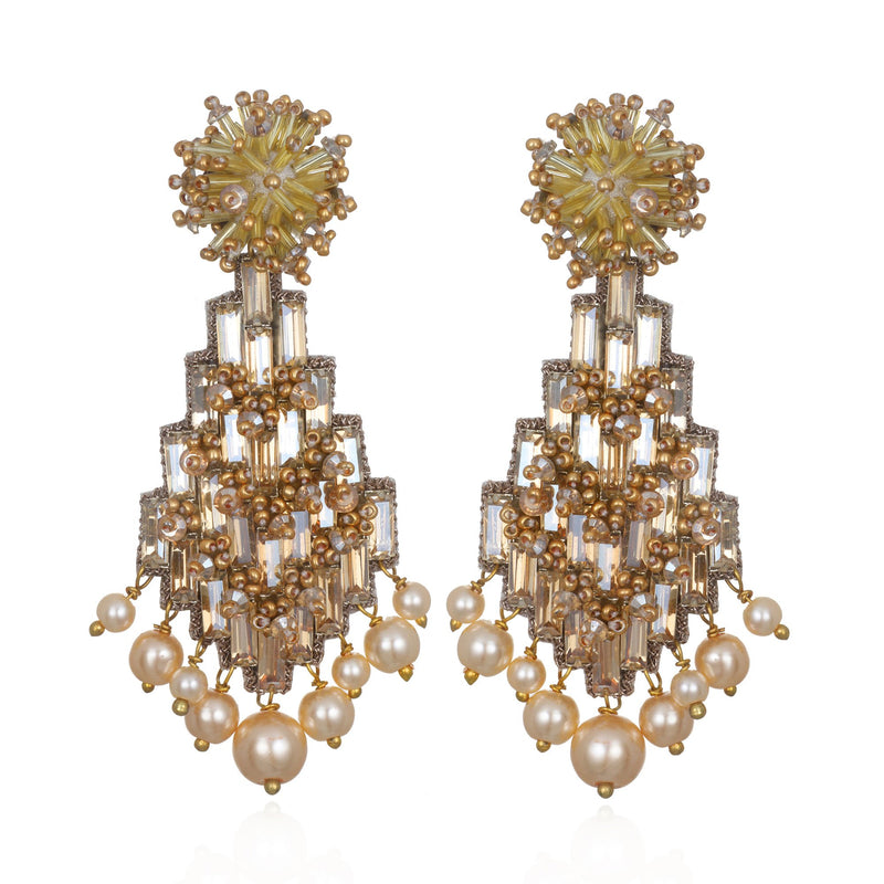 Alexandra Drop Earrings - Suzanna Dai