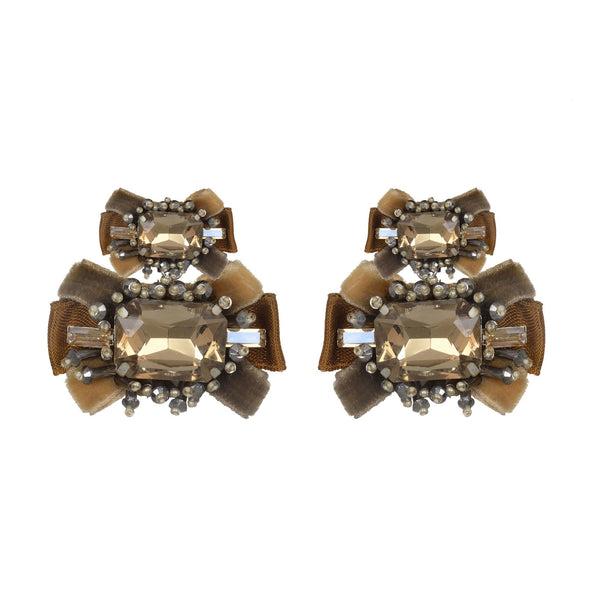 Antoinette Small Drop Earrings - Suzanna Dai