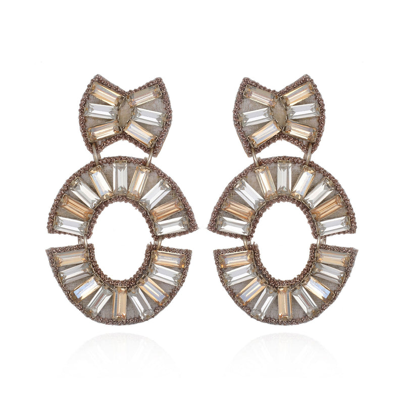 La Serenissima Drop Earrings - Suzanna Dai