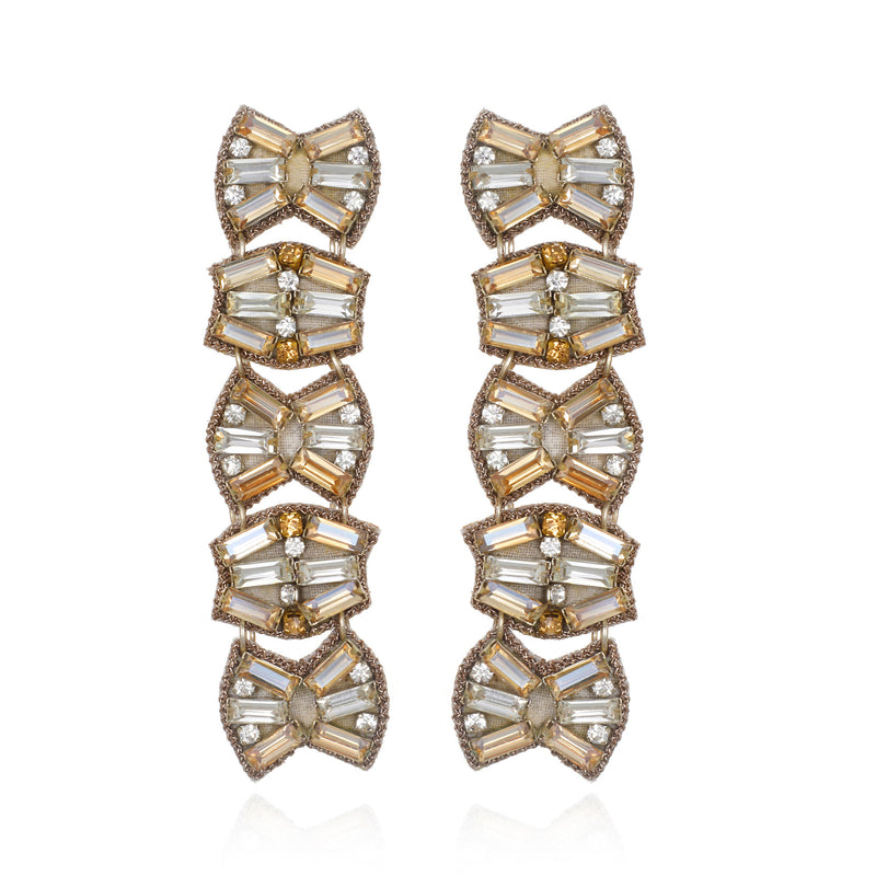 La Serenissima Shoulder Duster Earrings - Suzanna Dai