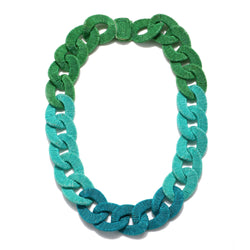 Algiers Silk Curb Chain Necklace - Suzanna Dai