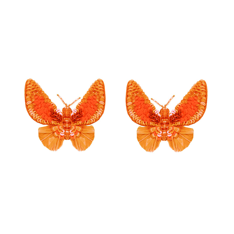Butterfly Button Earrings - Suzanna Dai