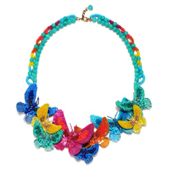 Butterfly Statement Necklace - Suzanna Dai