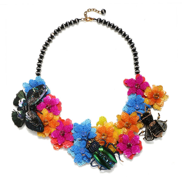 Garden Statement Necklace - Suzanna Dai
