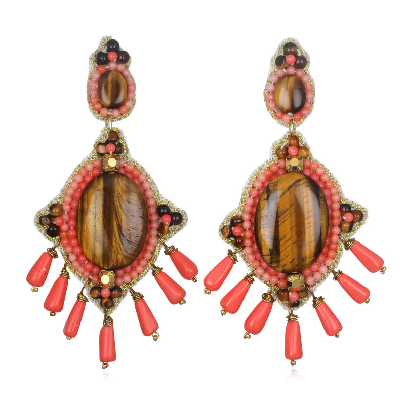Mozambique Drop Earrings