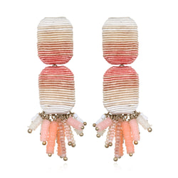 Saltillo Tassel Drop Earrings - Suzanna Dai