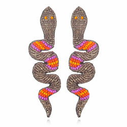 Gabon Drop Earrings - Suzanna Dai