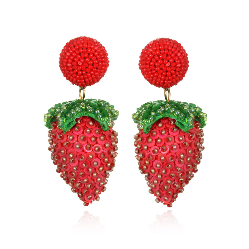 Fresa Drop Earrings - Suzanna Dai