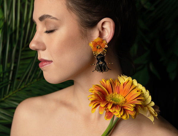 Garden Drop Earrings - Suzanna Dai