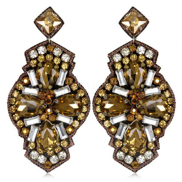 Mazatlan Large Drop Earrings - Suzanna Dai