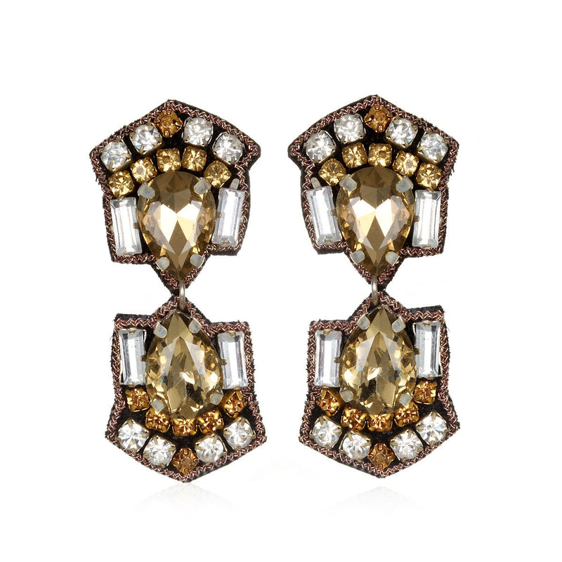 Mazatlan Small Drop Earrings - Suzanna Dai