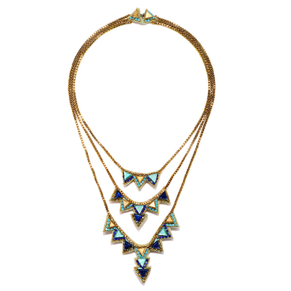 Tripoli Tiered Necklace - Suzanna Dai