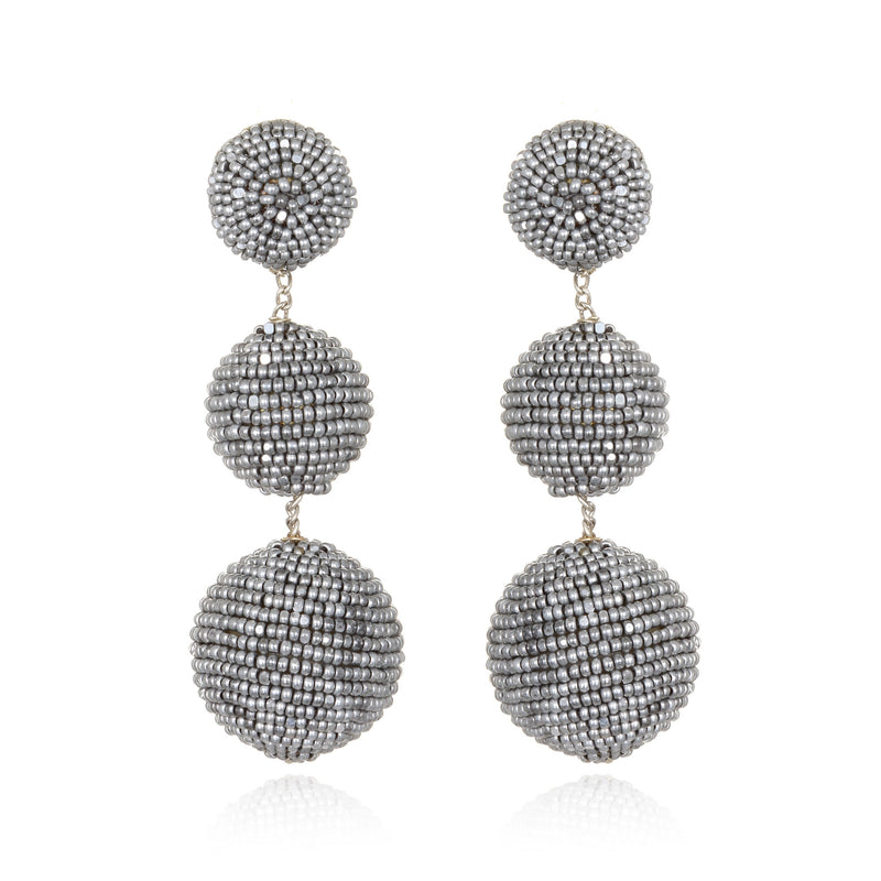Beaded Gumball Drop Earrings - Suzanna Dai