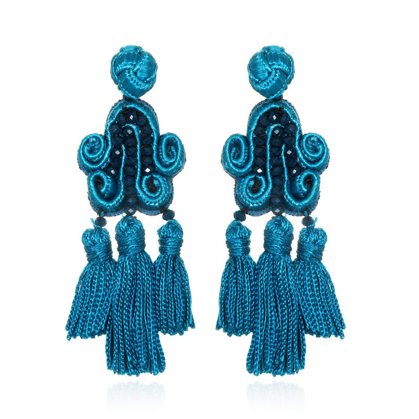 Tianzifang Tassel Drop Earrings