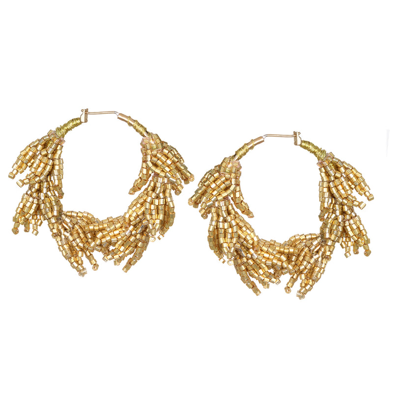 Laurel Hoop Earrings - Suzanna Dai