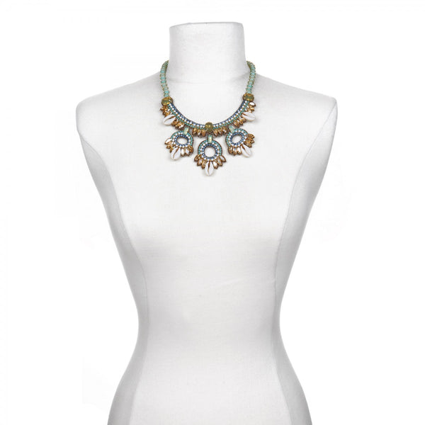 Quintana Roo Statement Necklace - Suzanna Dai