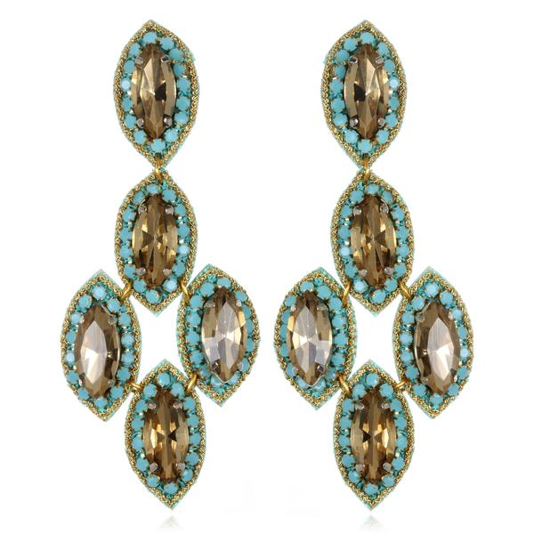 Quintana Roo Drop Earrings - Suzanna Dai