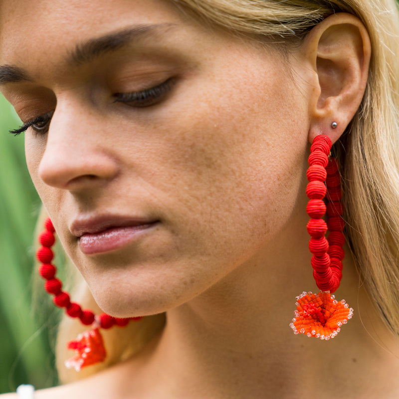 Kaanapali Infinity Hoop Earrings - Suzanna Dai