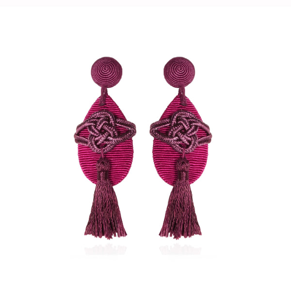 Forbidden City Tassel Earrings