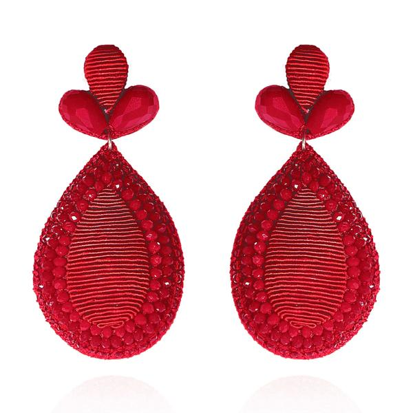 Fushan Lights Teardrop Earrings - Suzanna Dai