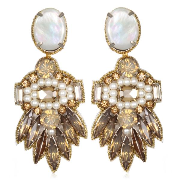 Victoria Drop Earrings - Suzanna Dai