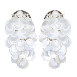 Curitiba Paillette Earrings - Suzanna Dai