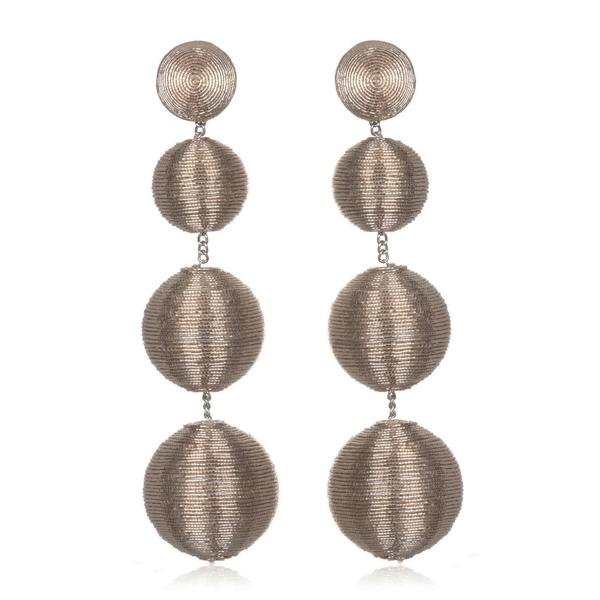 Metallic Gumball Drop Earrings - Suzanna Dai