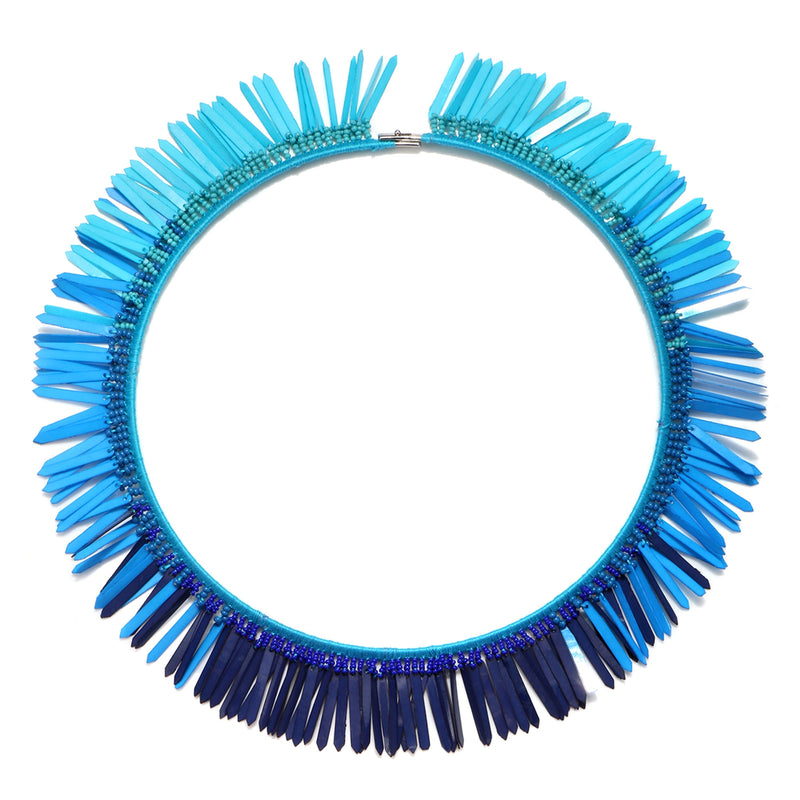 Karaja Paillette Collar Necklace - Suzanna Dai