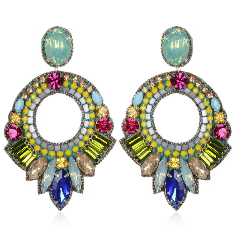 Lisboa Hoop Earrings - Suzanna Dai