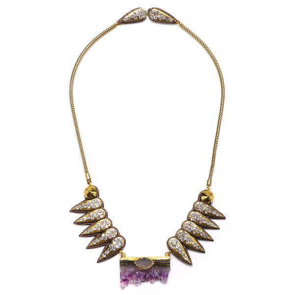 Torreon Amethyst Necklace - Suzanna Dai
