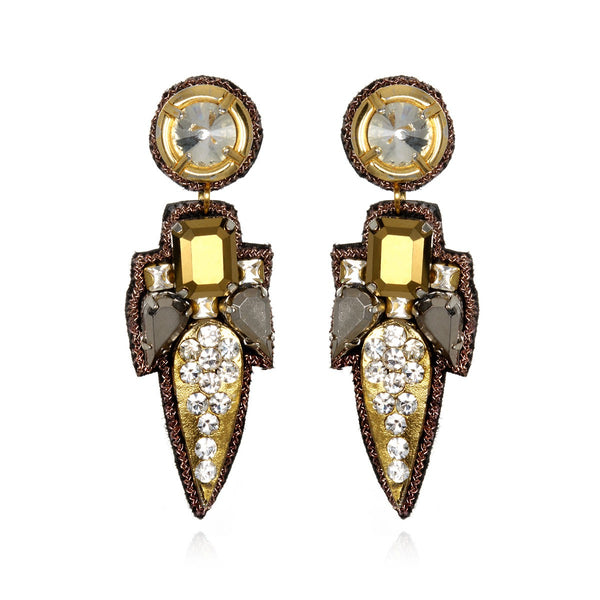 Torreon Small Drop Earrings - Suzanna Dai