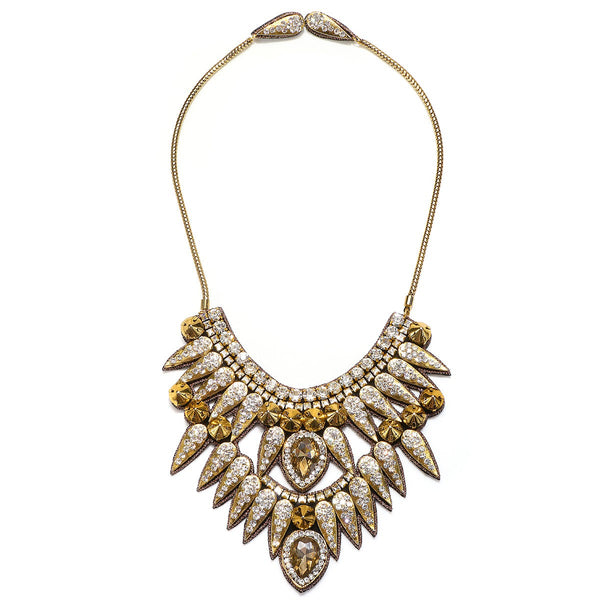 Torreon Spike Statement Necklace - Suzanna Dai