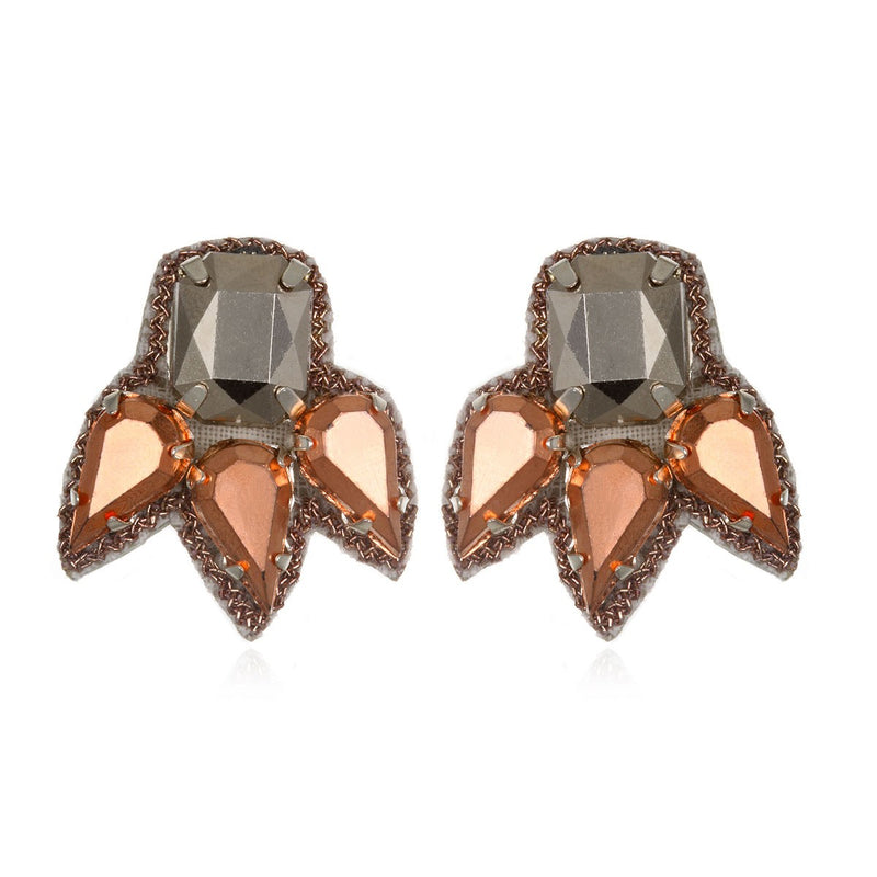 Torreon Spike Stud Earrings - Suzanna Dai