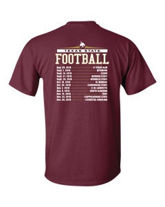 Texas State Schedule Shirt