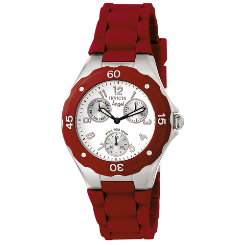 INVICTA Angel Lady 38mm stainless steel White dial VD76 Quartz 0701
