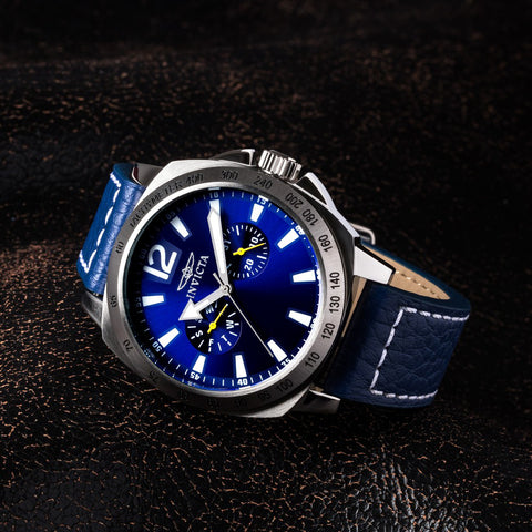 INVICTA Specialty Men 44mm stainless steel Blue dial 9231/1890 Quartz 0854