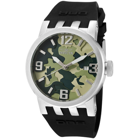 INVICTA DNA Lady 40mm stainless steel Green+Camouflage dial 515 Quartz 10461