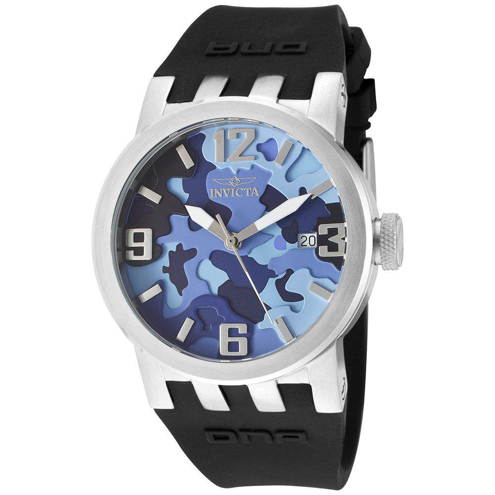 INVICTA DNA Lady 40mm stainless steel Blue+Camouflage dial 515 Quartz 10464